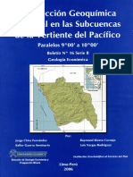 B016-Boletin-Prospeccion Geoquimica...Vertientes Del Pacifico