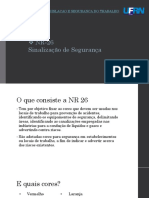 Legislacao e Seguranca NR26