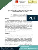 Desarrollo de Una Calculadora de Curvas Idf Generalizadas Para Colombia