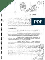 Planta de Cañada Grande - Resolución N° 540/2010