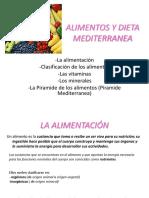 Alimentos y Dieta Mediterranea