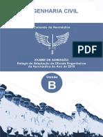 EAOEAR 2019 - Engenharia Civil  Versão B.pdf