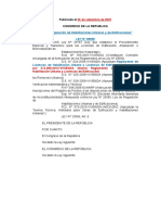 Ley 29090- Analisis