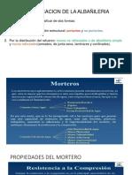 Clasificacion de La Albañileria