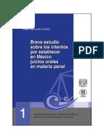 01 Breve Estudio Sobre Los Intentos Por Establecer en Mexico Juicios Orales en Materia Penal
