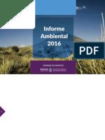Informe Ambiental 2016