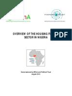 Housing Finance Sector in Nigeria 2010 Final
