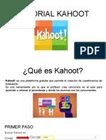 tutorial kahoot