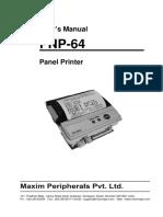 PNP-64 Thermal Printer