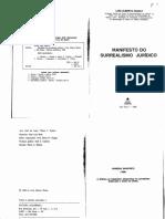 WARAT, Luis Alberto-Manifesto Do Surrealismo Juridico-Editora Academica (1988)