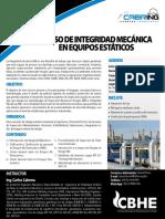 Curso de Integridad Mecanica en Equipos Estaticos