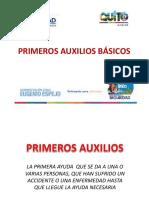 PRIMEROS AUXILIOS COMPLETA