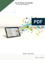 Diseño de Planes de Estudio  por Competencias Profesionales