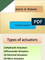Actuators - Kashyap Vaghela
