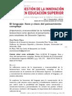 Maza, Ana María (2016) El lenguaje, llave y clave del pensamiento complejo.pdf