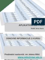 Prezentacija Predmeta Aplikativni Softver_2017