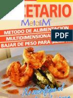 Recetario MetaliM - Ruben Reynaga