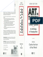 Art in Theory - 1900-2000