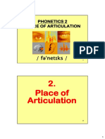l1-phonetIcs 2-place