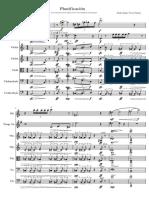 Plastificación-Partitura y Partes