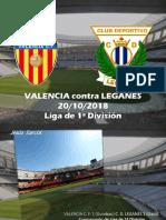 Jesús Sarcos  - Valencia Contra Leganés