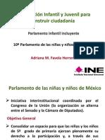 10 Parlamento Nin as y Nin Os de Me Xico Convocatoria y Lineamientos v01.11.2016