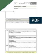 Plantilla de corrección para las actividades de expresión escrita (avanzada)