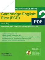 FCE Exam Essentials 2 (2015)