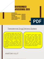 Transdermal Dds