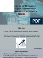 Indicadores de Contaminación Microbiológica (1)