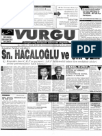 Vurgu 08 Eyl-Ek 1992
