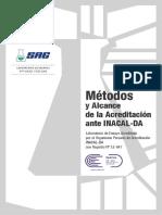Catálogo de Métodos Acreditados [ actualización noviembre 2018 ]