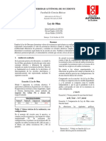 Reporte Lab3 - Ley de Ohm