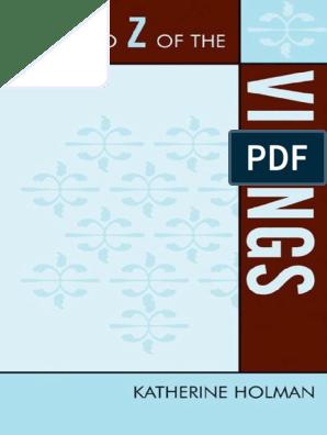 The A to Z of the Vikings - Katherine Holman pdf | Vikings
