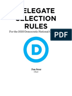 2020 Delegate Selection Rules