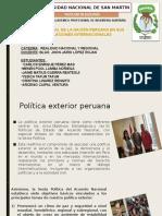 Vision Del Peru en Sus Relaciones Internacionales