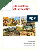 Album de Periodos del arte prehistorico