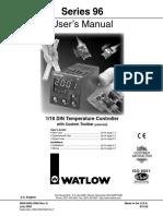 Controlador de Temp Watlow 96