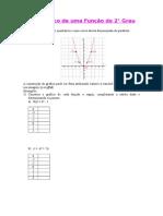 26 - Gráfico da função 2° grau.doc