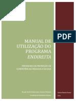 Manual de Utilização Do Programa Endireita