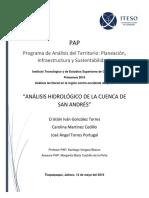 Análisis Hidrológico de La Cuenca de San Andrés