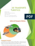 Oferta de Transporte Turistico