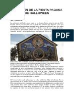 El Origen Pagano de Halloween