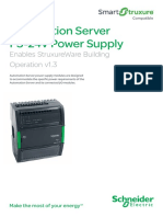 Automation Server PS-24V Power Supply Enables StruxureWare Building Operation SXWPS24VX10001