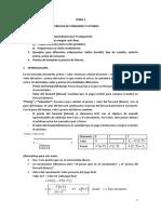 Tema 2. Funcionamiento de Los Mercados de Forwards y Futuros