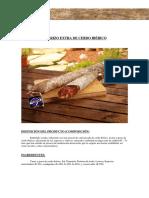 Chorizo Extra de Cerdo Ibérico
