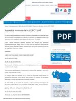 Aspectos Técnicos de La LOPCYMAT _ Fastmed