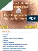 Aplicabilidad Hidrógeno Para Generación Térmica