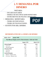 Cap 18 Money Supply and Money Demand