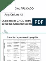 Aula 12 (Online) - Geografia (João Felipe)